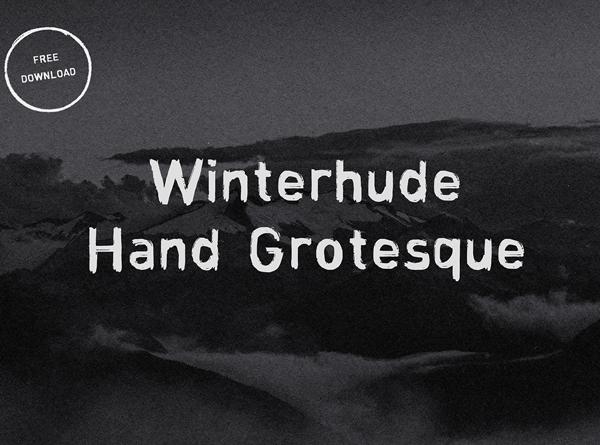 Winterhude Hand Grotesque Free Font