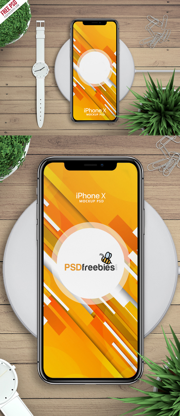 Free Download iPhone X PSD Mockups and Sketch - 10