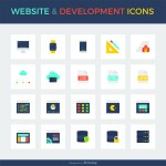 Smashing Freebies: Website & Development Icon Set