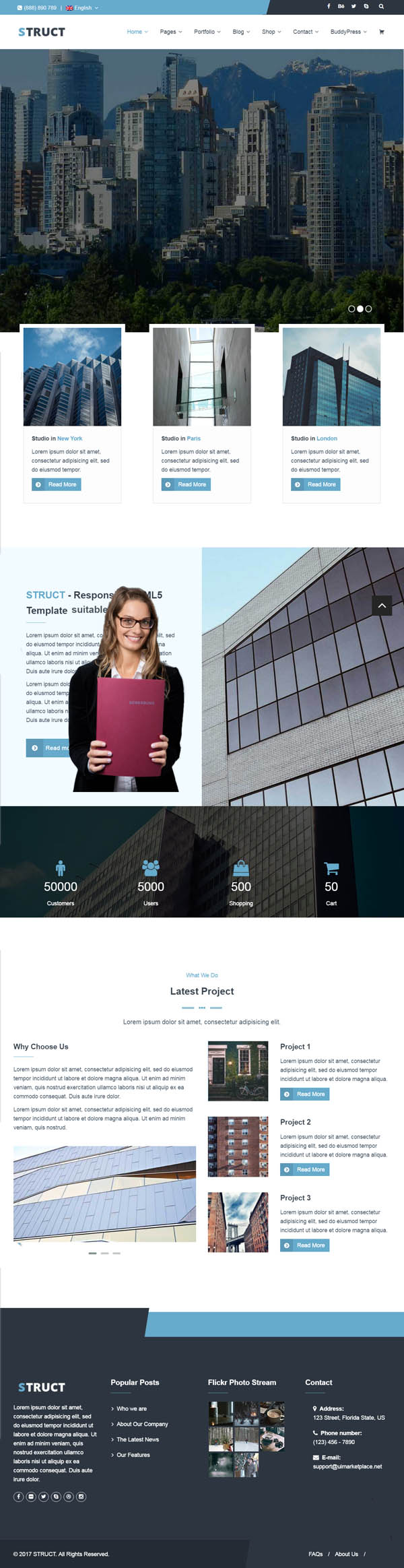 Struct – Responsive WordPress Theme