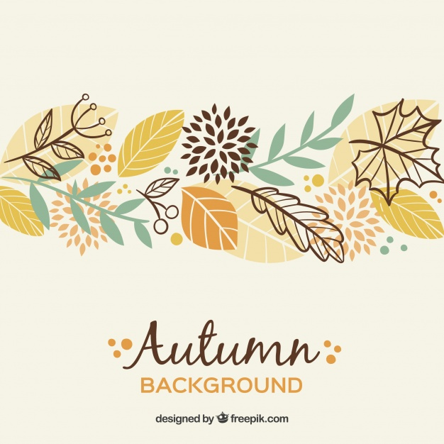 autumn web design elements inspiration