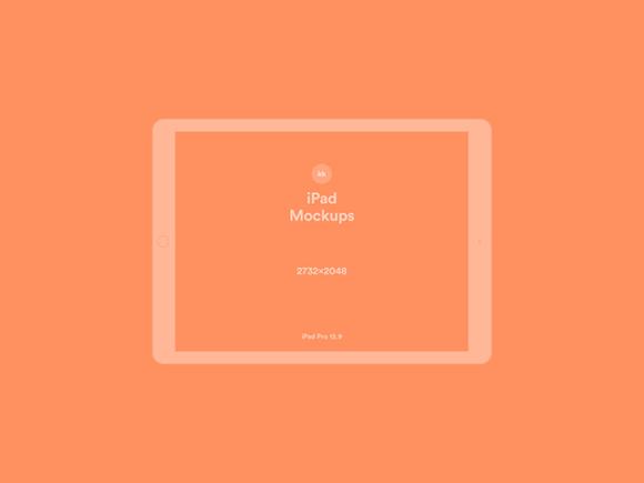 iPad orange version