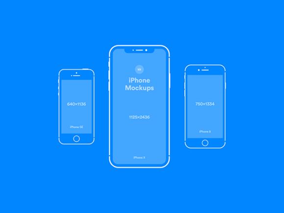 iPhone blue version