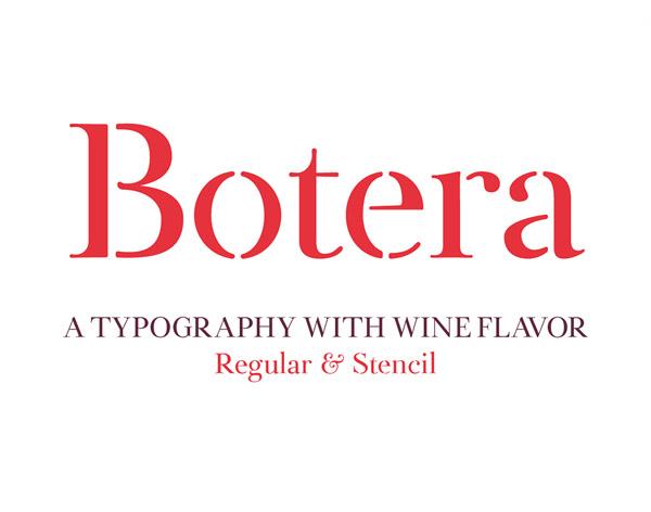 Botera Free Font