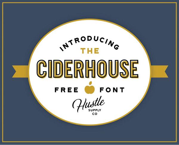 Ciderhouse Free Font