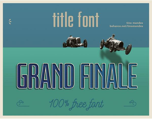 Grand Finale Free Font