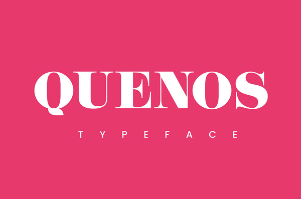 Quenos Free Font