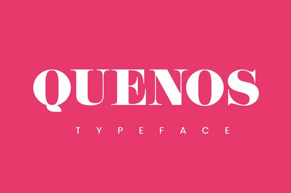 Quenos Free Font