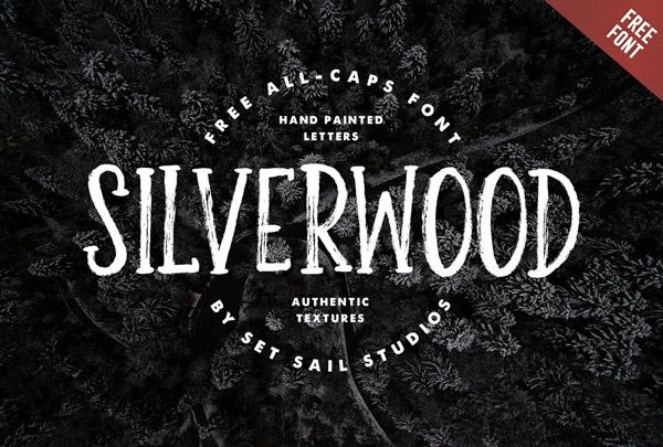 Silverwood Free Font