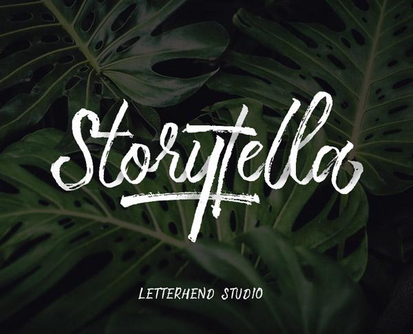 Storytella Free Font