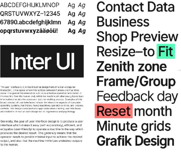 Inter UI sample 02