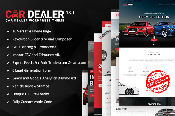 Car Dealer – The Best Car Dealer Automotive Responsive WordPress ...