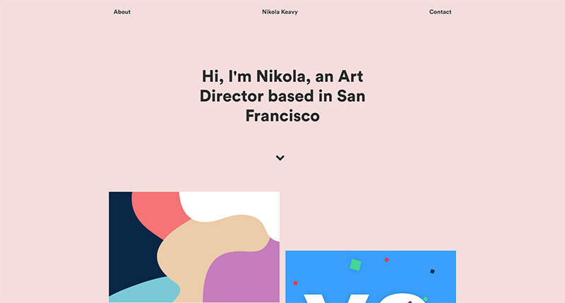 typography usage in web design