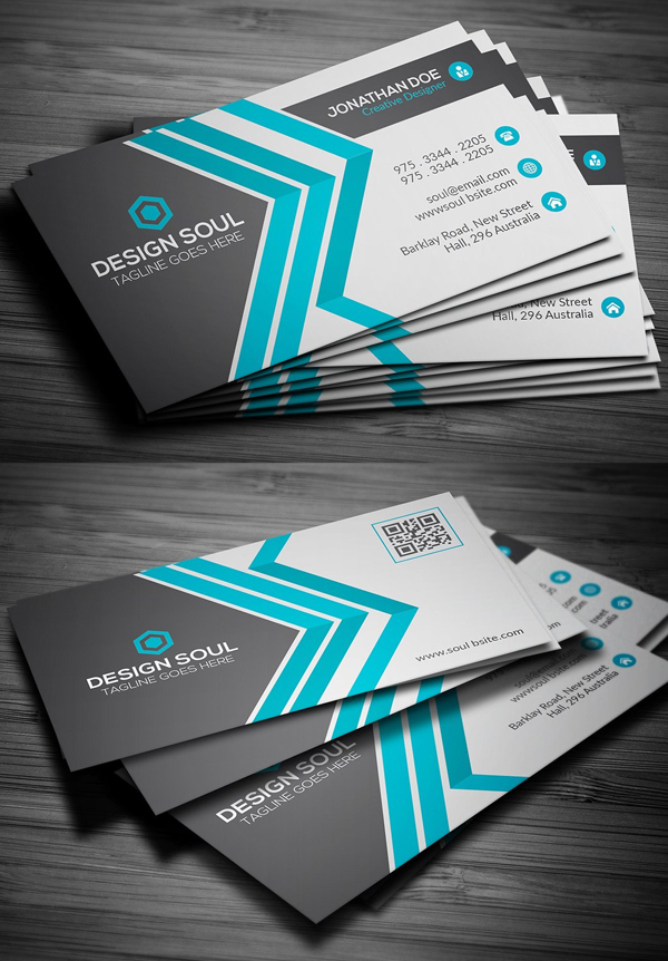 80+ Best of 2017 Business Card Designs - iDevie