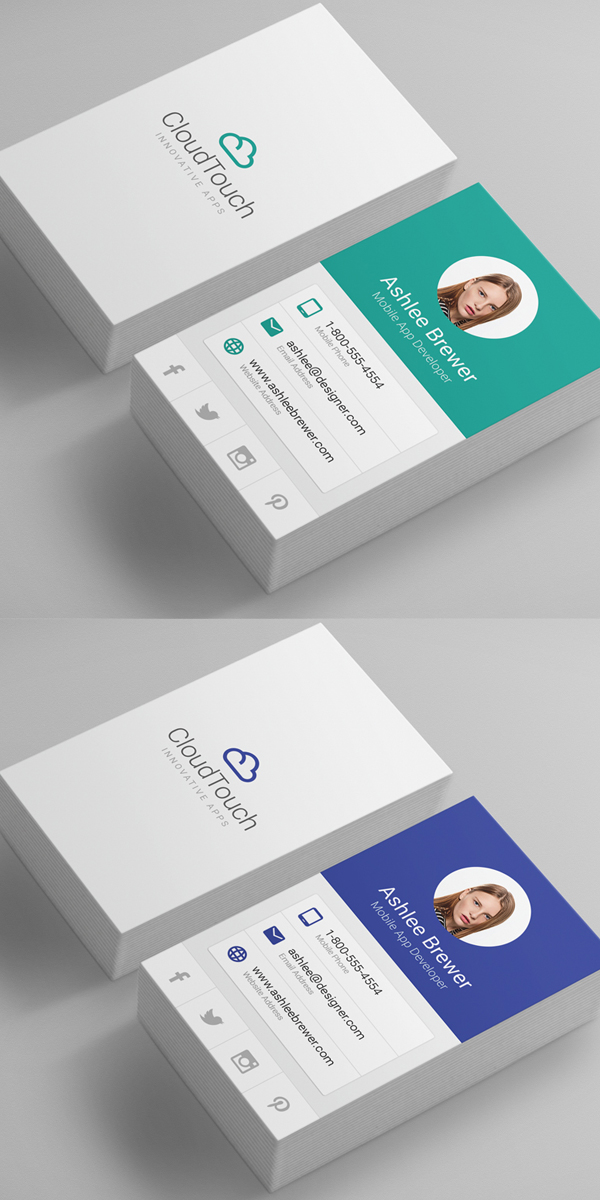 80 best of 2017 business card designs - Best Business Card Designs 2017