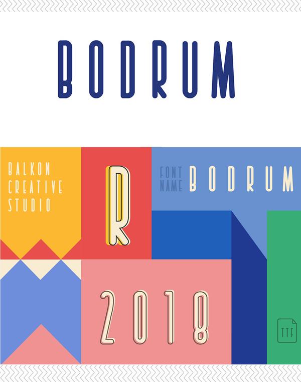 Bodrum Free Font