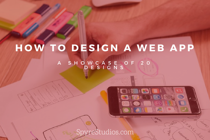web app design examples