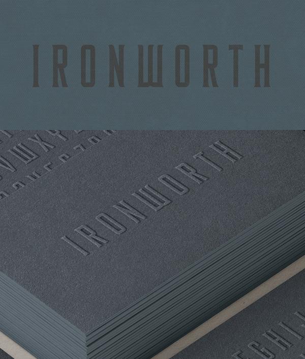 Ironworth Free Font