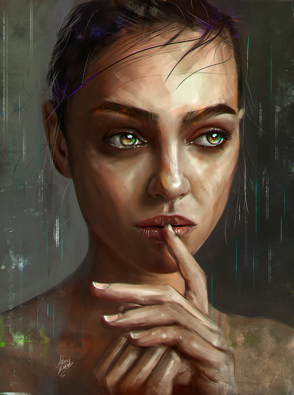 amazing digital illustrations and painting art by ahmed