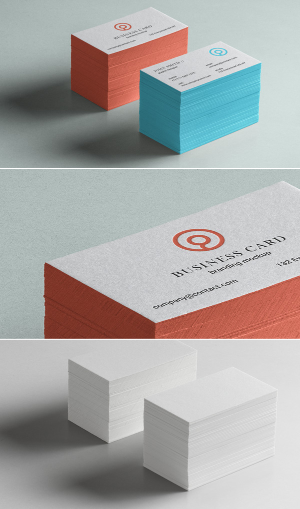 Free Psd Business Card Brand Mockup