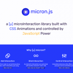 Micron.js: A JS library for creating CSS animations