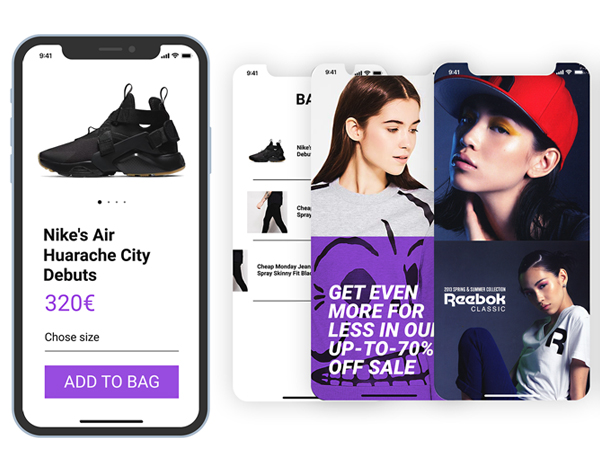 Responsive App UI Design