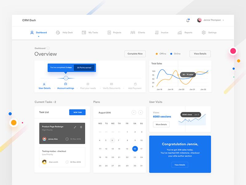 web app design consistent