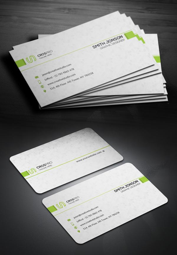 Creative Minimal Business Card