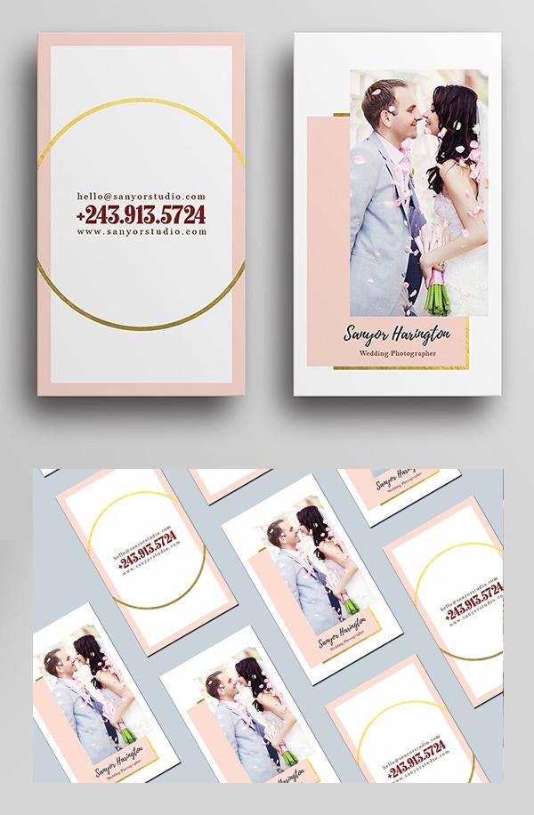 Wedding Photography Business Card