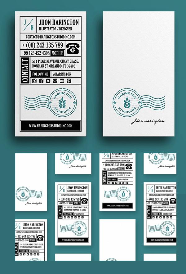 Studio Retro Business card