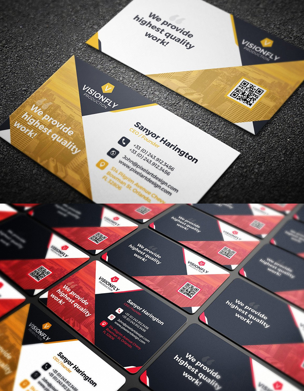 Corporate Real Estate Business Card