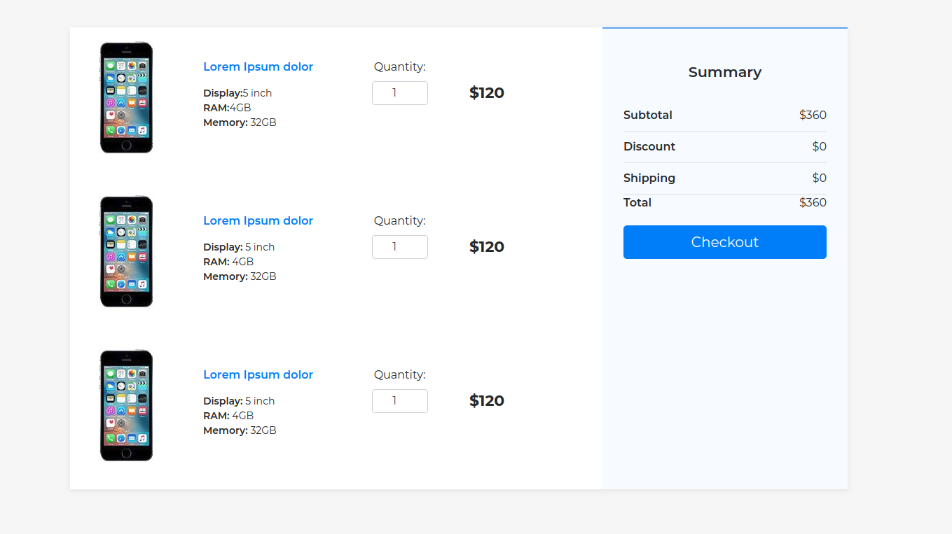freebie  2 beautiful checkout forms with bootstrap 4