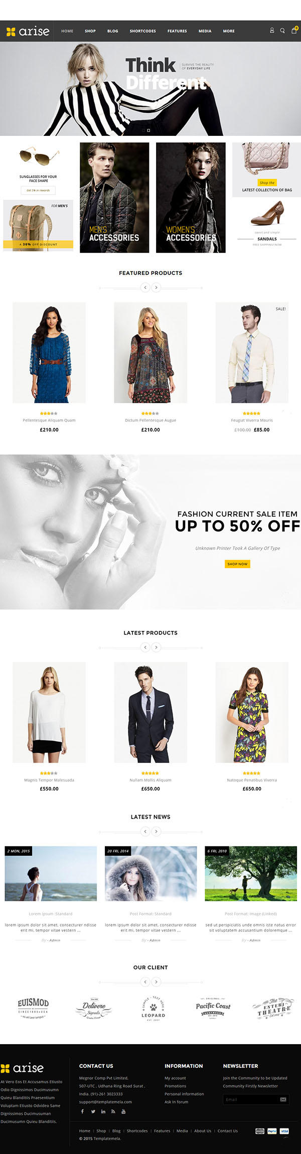 Arise – WooCommerce Responsive Theme