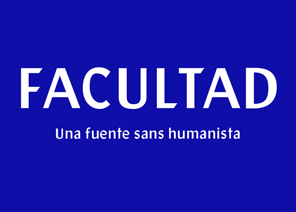 Facultad free fonts