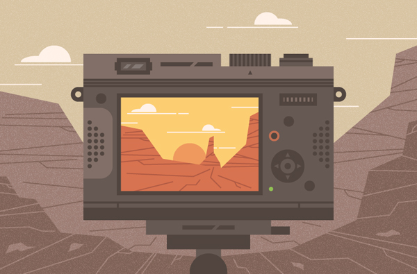 How to Create a Canyon Illustration in Adobe Illustrator
