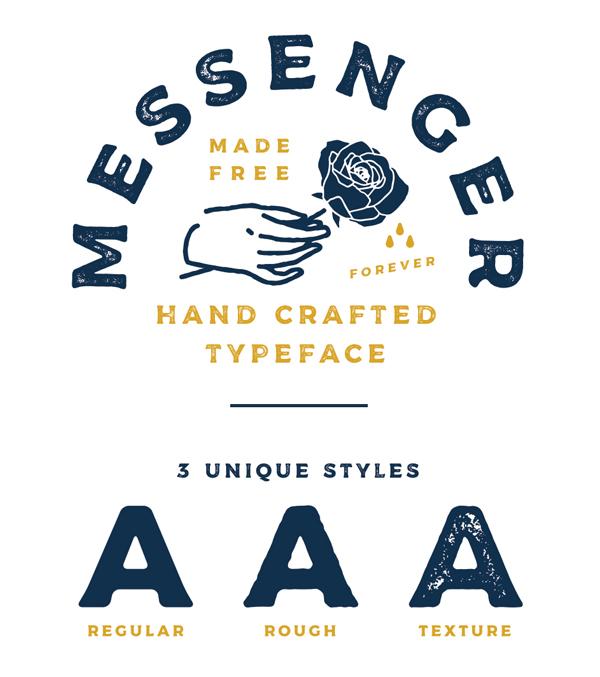 Messenger Free Font