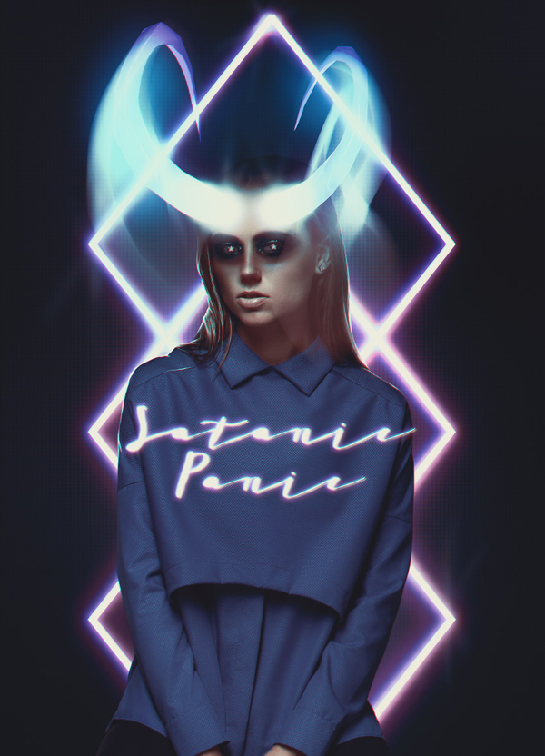 How to Create an 80s Neon Horns Photo Manipulation in Adobe Photoshop