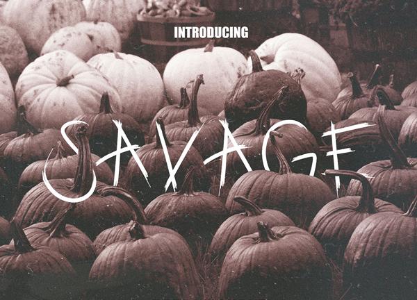 Savage Free Font