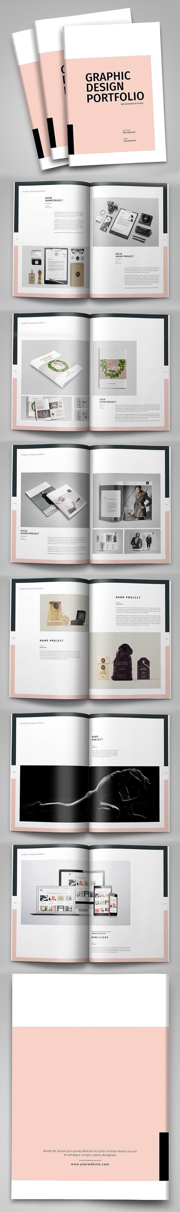 Minimal Design Portfolio Template