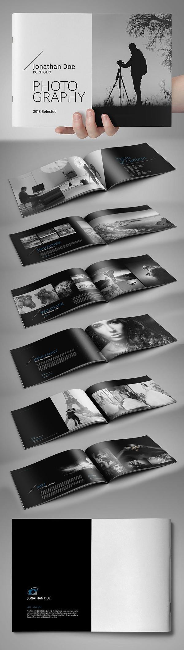 Modern Portfolio / Photobook Brochure Template
