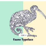 Faune – A free font inspired to the animal world