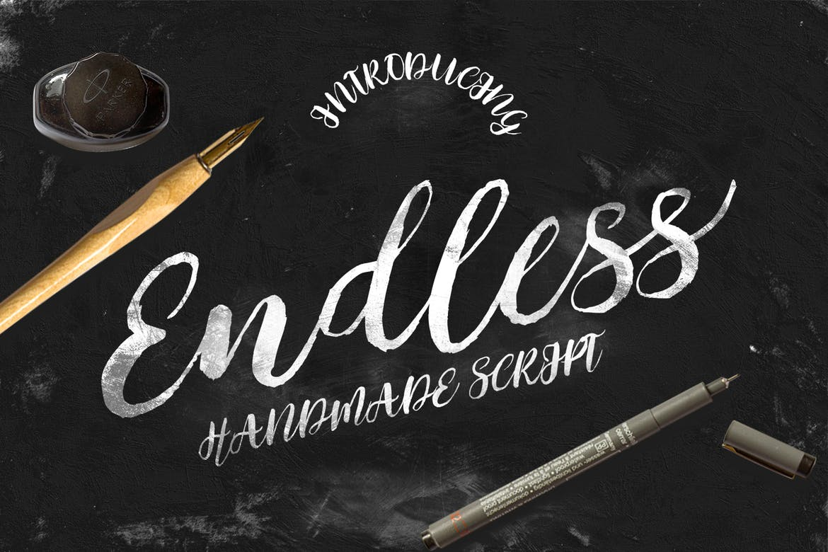 Modern handwritten fonts for fresh design trends idevie Modern script font