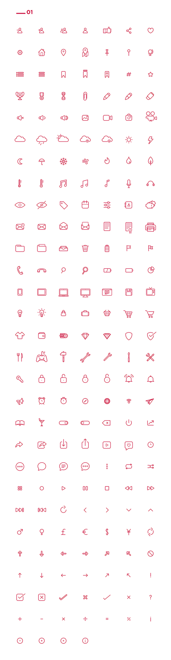 Icon pack preview