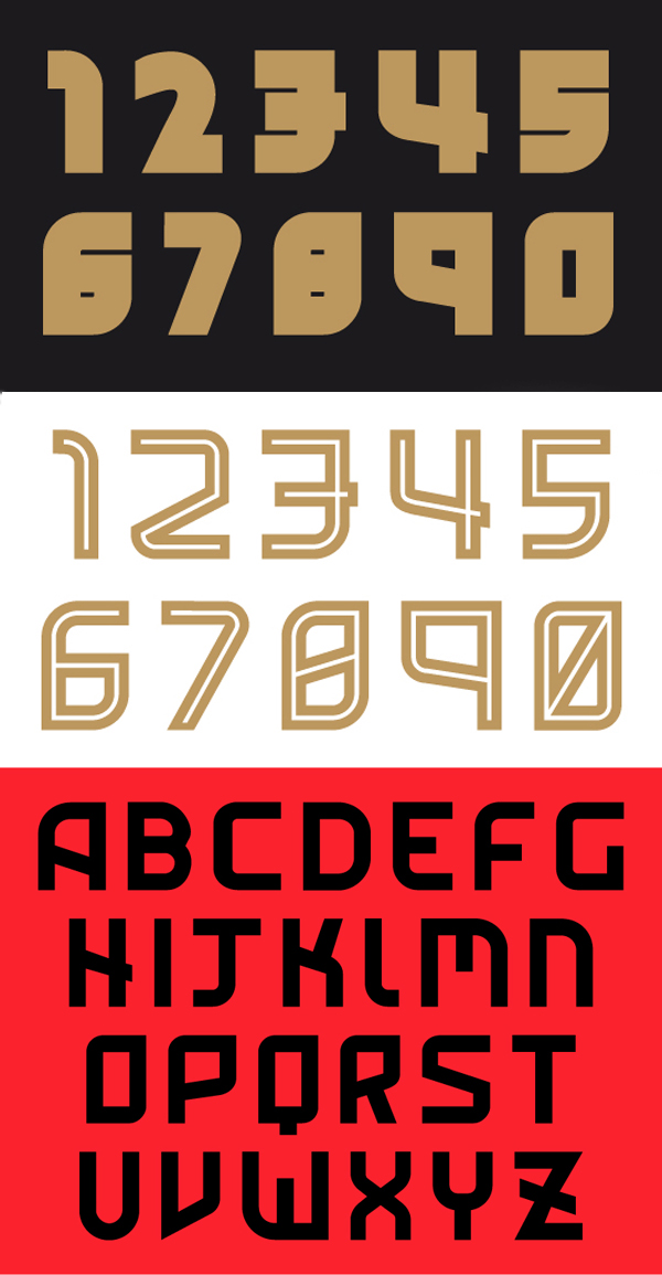 Eindhoven Free Font Letters