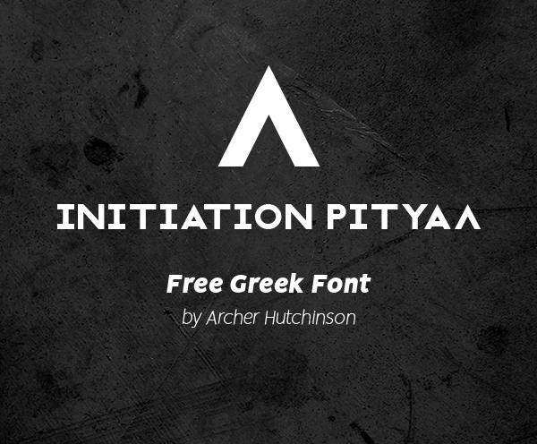 Initiation Ritual Free Font