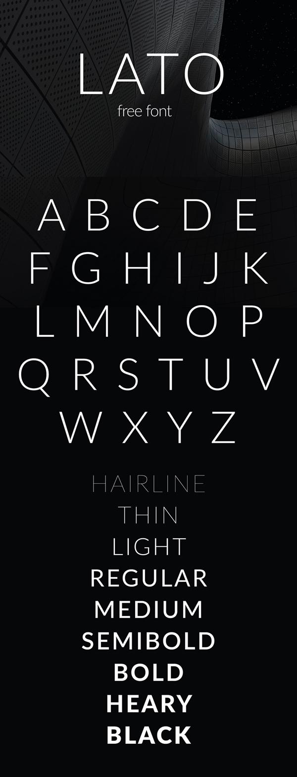 Lato Free Font