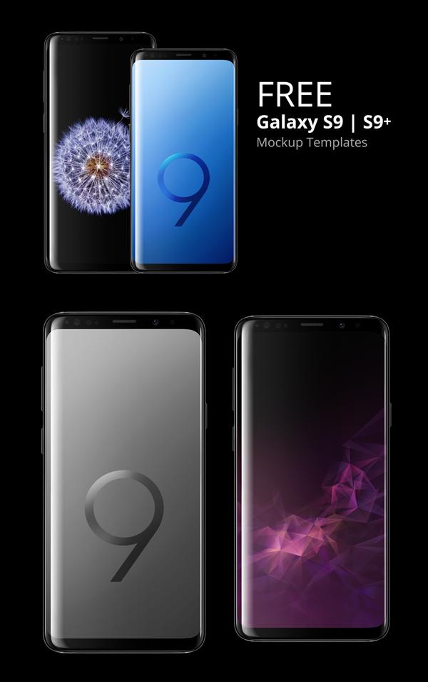 Freebie: Samsung Galaxy S9 Mockup