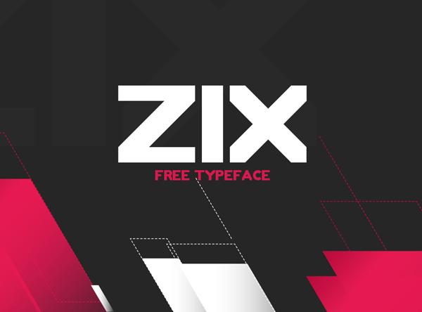 ZIX Free Font