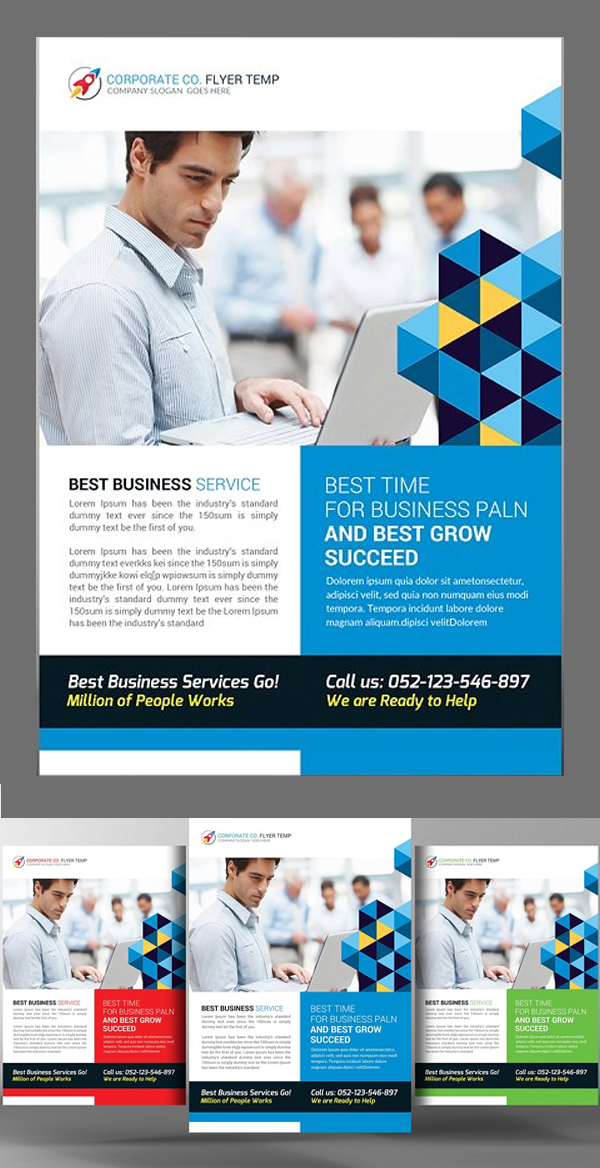 Smart Corporate Business Flyer