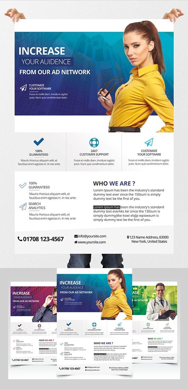 Business & Medicine - 3 PSD Flyers